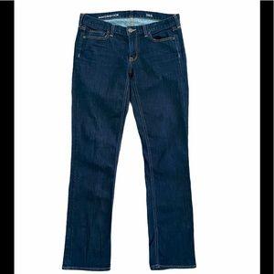 J Crew Dark Wash Matchstick Jeans